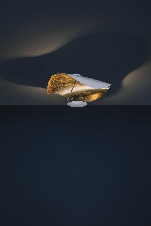 catellani smith lederam manta cws1 led wandleuchte deckenleuchte g nstig kaufen. Black Bedroom Furniture Sets. Home Design Ideas