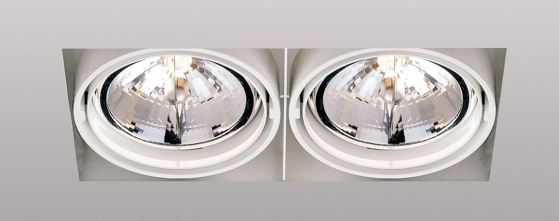 delta light grid in trimless 2 qr einbauleuchte g nstig. Black Bedroom Furniture Sets. Home Design Ideas