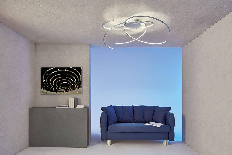 escale space led deckenleuchte g nstig kaufen. Black Bedroom Furniture Sets. Home Design Ideas