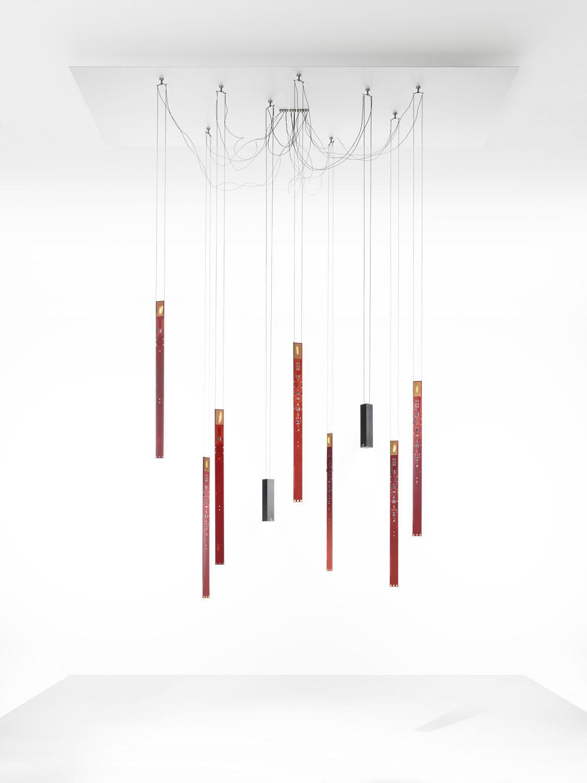 ingo maurer flying flames baldachinplatte. Black Bedroom Furniture Sets. Home Design Ideas
