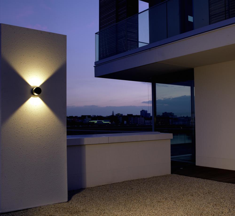 albert 2315 led wandleuchte strahler au enleuchte g nstig kaufen. Black Bedroom Furniture Sets. Home Design Ideas