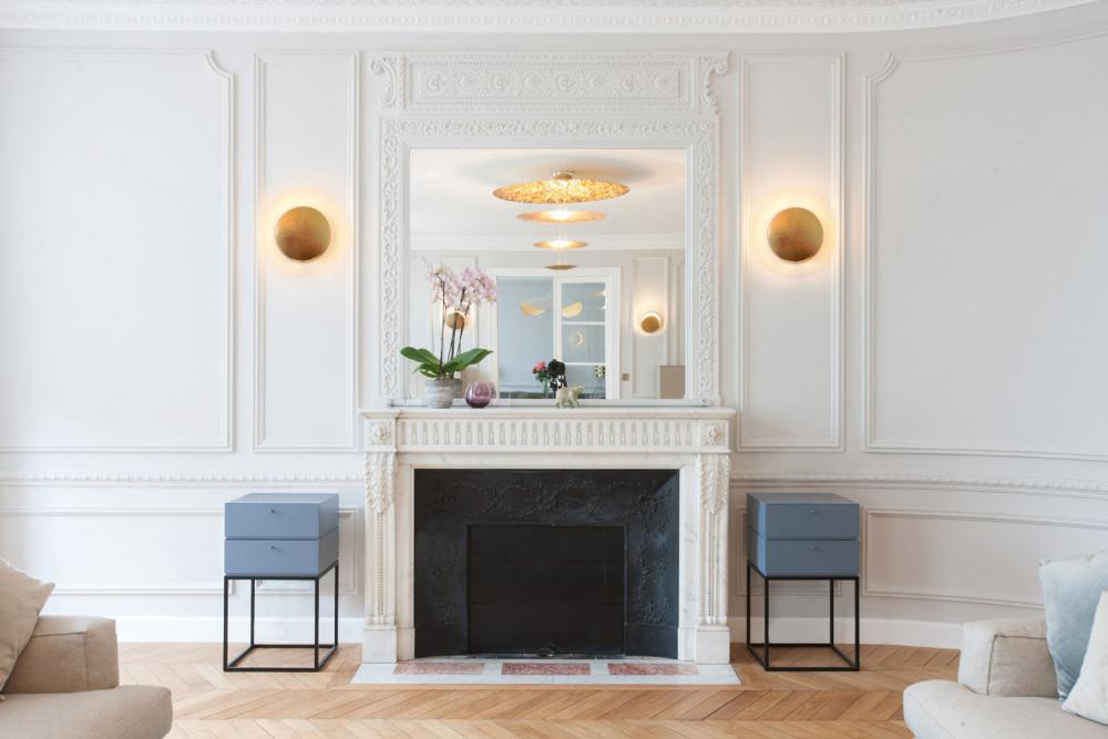 catellani smith lederam wf led wandleuchte g nstig kaufen. Black Bedroom Furniture Sets. Home Design Ideas