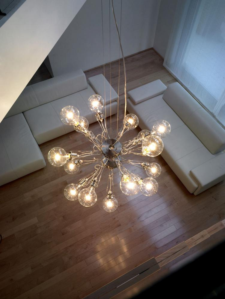 lumina matrix doppia pendelleuchte g nstig kaufen. Black Bedroom Furniture Sets. Home Design Ideas