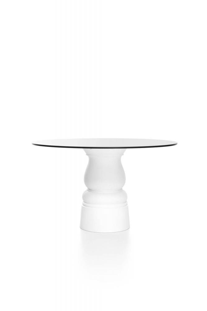 Moooi Container Table New Antiques 7143 mit runder HPL-Platte - Produktfoto