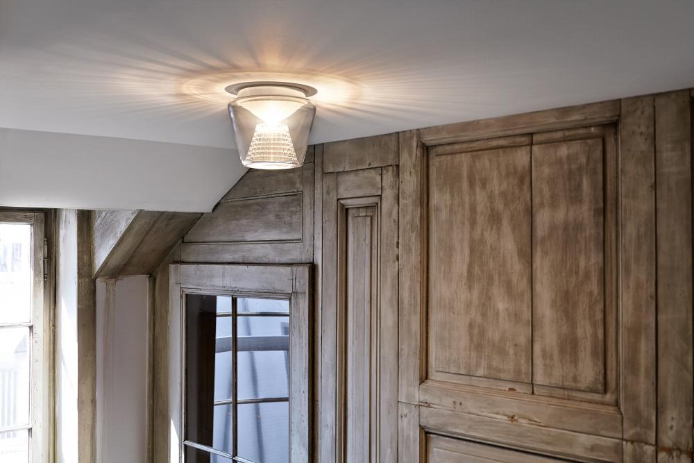 serien annex ceiling large schirm klar reflektor kristallglas led deckenleuchte g nstig kaufen. Black Bedroom Furniture Sets. Home Design Ideas